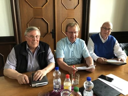 Foto (Quelle: SPD-Fraktion) zeigt v. l. Udo Scheuermann, Matthias Baaß, Helmut Beck.